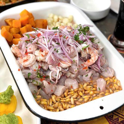 Ceviche Peruano Receta Paso A Paso Comidas Peruanas