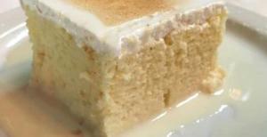 torta 3 leches receta