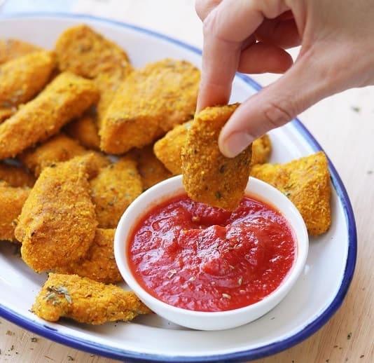 como preparar nuggets
