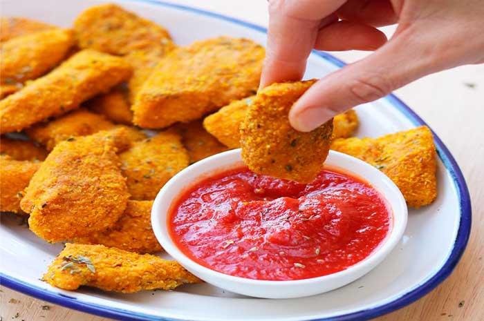 como preparar nuggets de pollo