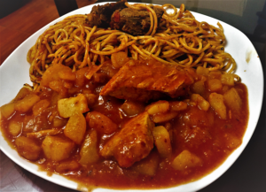 Carapulcra - Carapulcra con sopa seca - Carapulcra receta