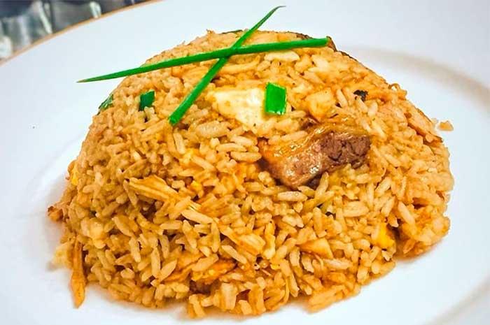 como preparar arroz chaufa