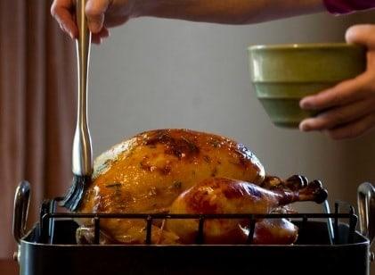 receta de pavo navideño