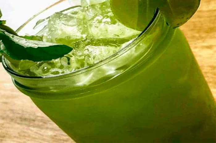 como preparar limonada de hierba luisa