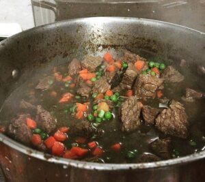 receta para seco de carne