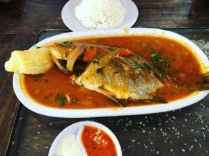 como hacer sudado de pescado