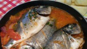 ingredientes para sudado de pescado