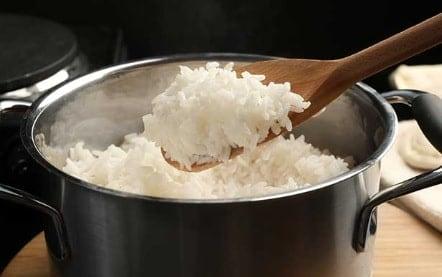 como preparar arroz