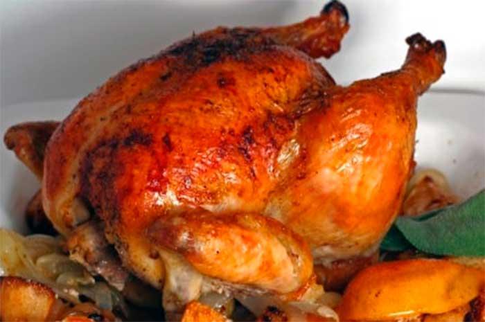 pollo al horno receta