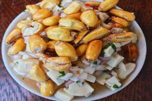 receta de ceviche de pota