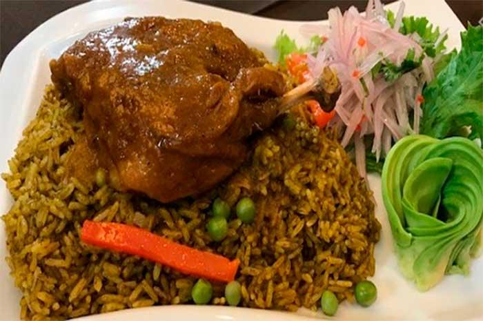 arroz con pato ingredientes
