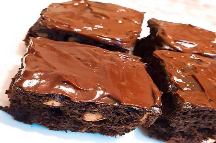 como preparar brownie