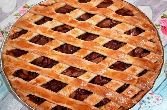pie de manzana receta