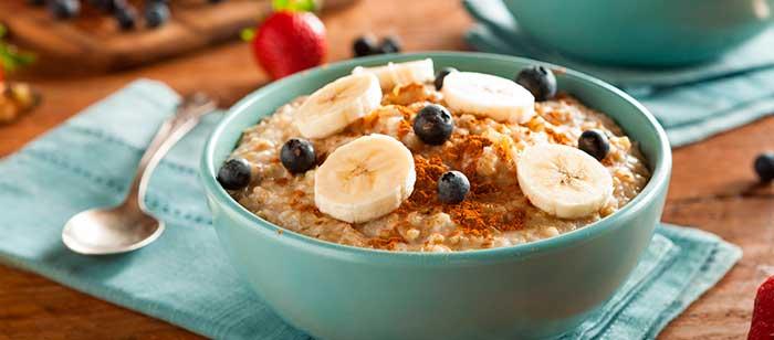 avena para el desayuno