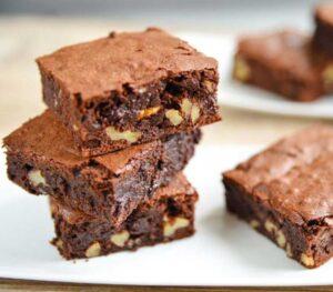 como hacer brownies