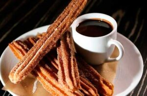 ingredientes para churros