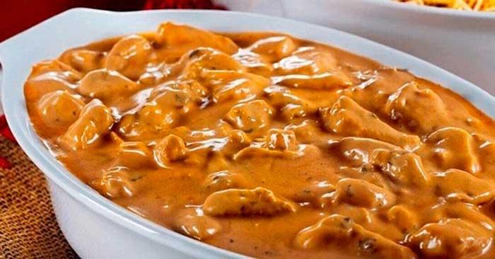 receta de salsa strogonoff