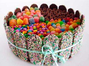 como preparar torta candy cake