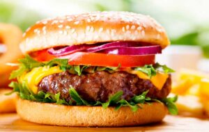 receta de hamburguesa de carne