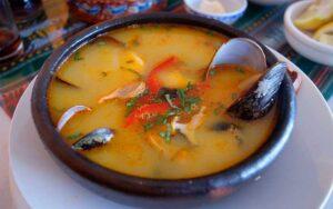 sopa de choros receta