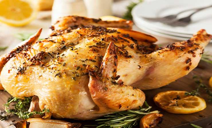 como preparar pollo a las finas hierbas